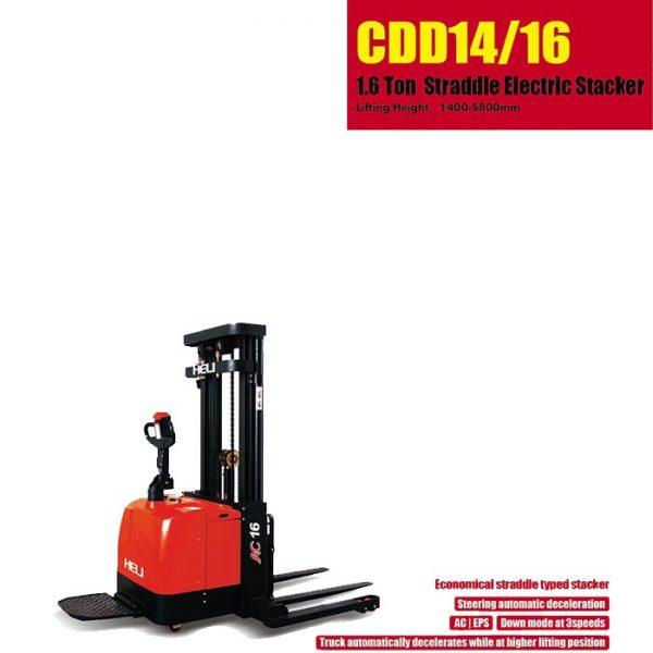 G系列 1.6顿 – 三级门架宽腿电动堆垛车