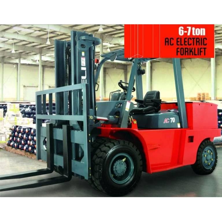 H系列6-7t蓄电池平衡重式叉车 – 中国合力叉车