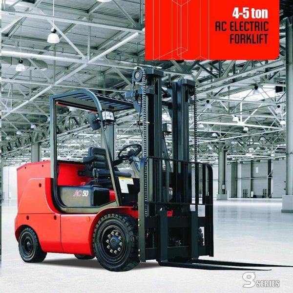 G系列4-5吨蓄电池平衡重式叉车 – 合力叉车越南独家代理