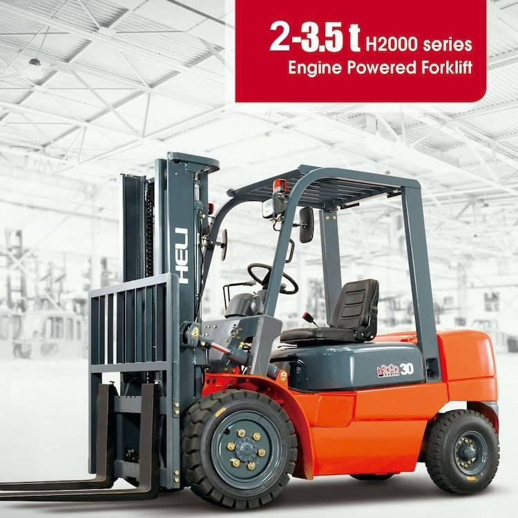 H2000系列 2-3.5吨柴油平衡重式叉车 – 在越南的合力叉车