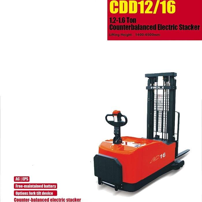 G系列 1.2顿 – 平衡重式电动堆垛车