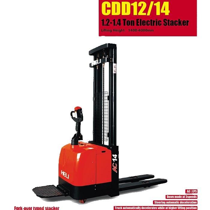G系列 1.2顿窄腿电动堆垛车 – 电动手动液压搬运车