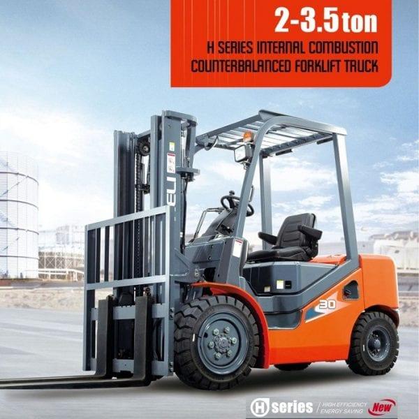 H3系列 2-3.5吨柴油 – 合力叉车 – 3吨合力叉车
